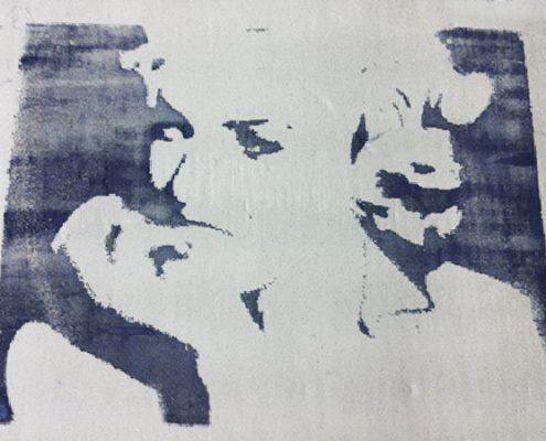 stampa su argilla